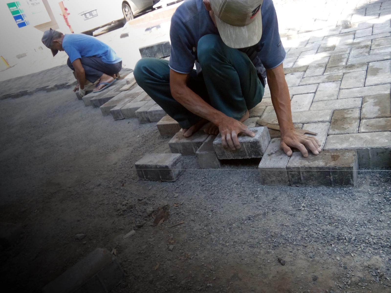 Cara Pemasangan Paving Block